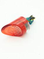Rücklicht Haifischnase rot