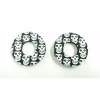 Donuts Skull für MX-Griffgummis paarweise