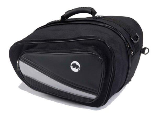 Seitentaschen flach