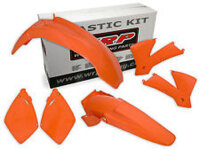 Plastiksatz orange KTM SX 05-06 / EXC 05-07