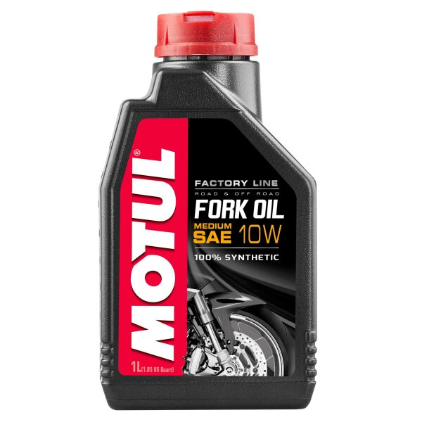 MOTUL fork oil factory line 1liter 10w medium