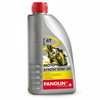 PANOLIN Mototoröl MOTO SYNTH 10W/30 4T HONDA 1 Liter