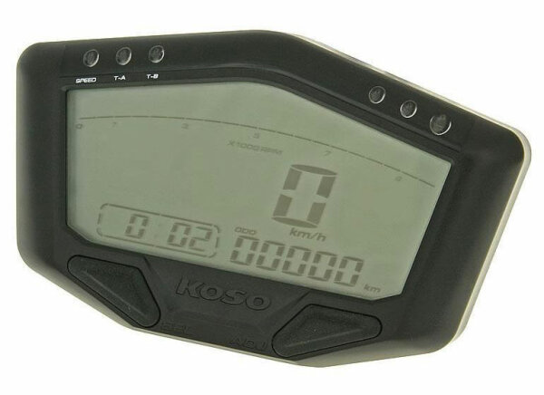 KOSO Multi-Instrument DB02, mit Batterie