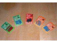 10er Pack Flachsteckhülse blau vollisoliert für...