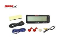Koso PRO-1 Drehzahlmesser mit Thermometer und...