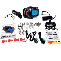 KOSO RX2N+ GP Style Tacho Tachometer Drehzahlmesser bis...