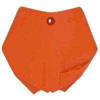 Startnummerntafel für 65 ccm KTM SX 65 Bj. 09-15 orange
