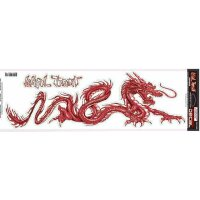 Aufkleber Dragon red LETHAL THREAT