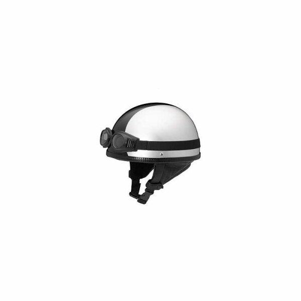 REDBIKE Helm RB-500 Farbe silber-schwarz Größe 56-62