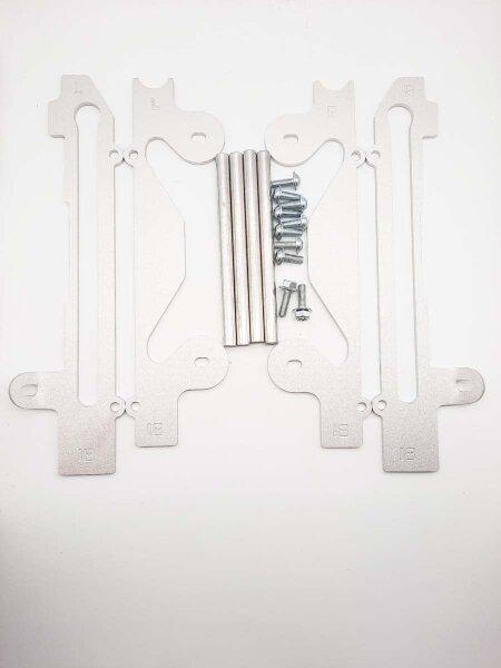 Kühlerschutz für YAMAHA YZF 450 R Bj. 06-09 aus Aluminium WRP