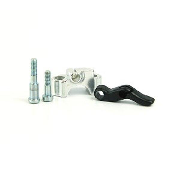 WRP Heißstarthebel für Suzuki RM-Z 450 BJ 04-09 Farbe silber-schwarz