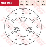 Bremsscheibe TRW Typ MST250