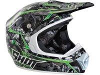 Helm SHOT FURIOUS LORD schwarz-weiß-grün Gr....