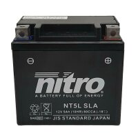 Batterie YTC5L-BS NITRO
