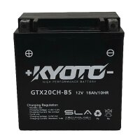 Batterie YTX20CH-BS NITRO