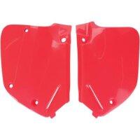 Seitenteile für 125 ccm HONDA CR 125 Bj. 92-94 rot...