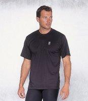 RUKKA T-Shirt Coolmax Funktionsunterwäsche schwarz