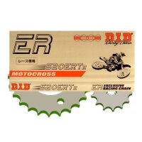DID Kettensatz KTM 125 EXC Enduro Stahlkettenrad Bj....