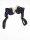 Spanngurte Zurrgurte schwarz paarweise je 1,5m mit 2 Haken Tie-down