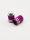 Ventilkappen Bullet violett 1Paar Auto Motorrad Moped Roller Fahrrad