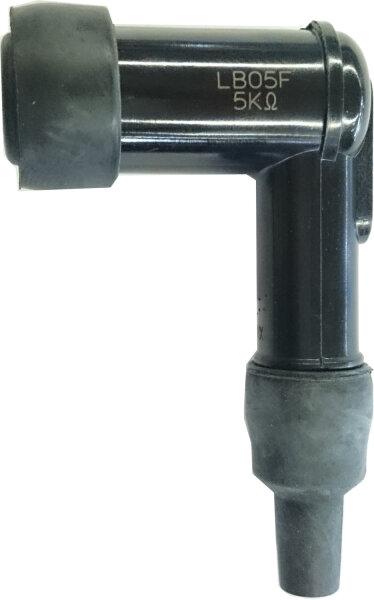 Zündkerzenstecker NGK lb05f 90grad schwarz 14mm