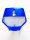 Startnummerntafel AIR FLOW universal blau von POLISPORT