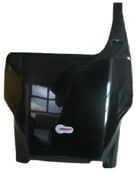 Startnummerntafel schwarz HONDA CR 125 /250/