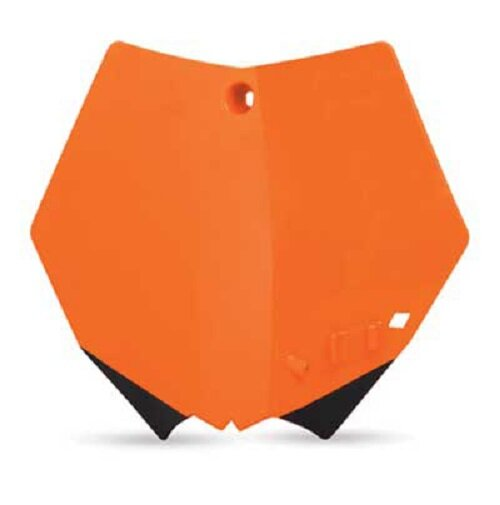 Startnummerntafel orange KTM SX 99-02