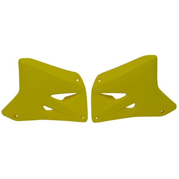 Kühlerverkleidung für 125 ccm SUZUKI RM 125 Bj. 01-08 gelb paarweise
