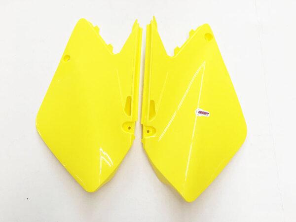 Seitenteile SUZUKI RM125/250 gelb 01-08