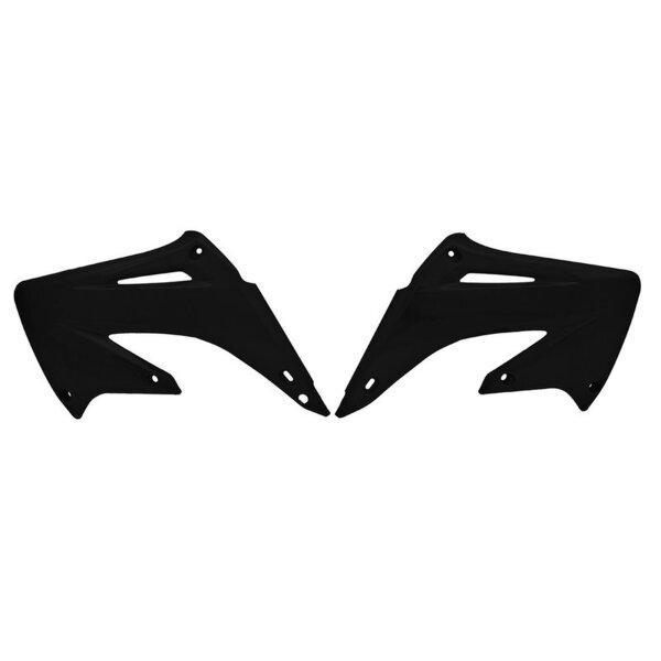 Kühlerverkleidung für 125 ccm HONDA CR 125 Bj. 02-07 schwarz paarweise