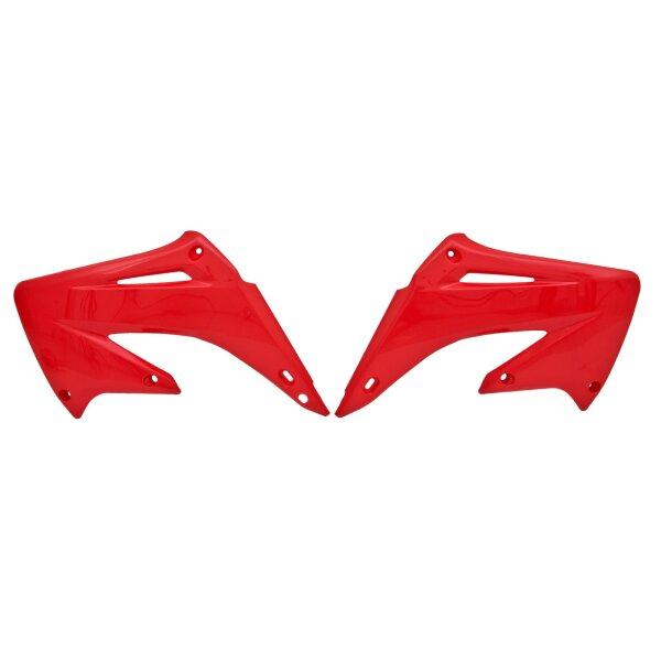 Kühlerverkleidung für 125 ccm HONDA CR 125 Bj. 02-07 rot paarweise