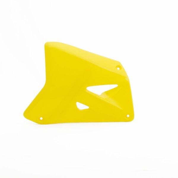 Kühlerverkleidung für 85 ccm SUZUKI RM 85 Bj. 96-01 gelb einteilig