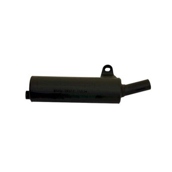 Auspuff für 80 ccm HONDA MTX 80 Bj. 85-01 Endtopf schwarz GIANNELLI